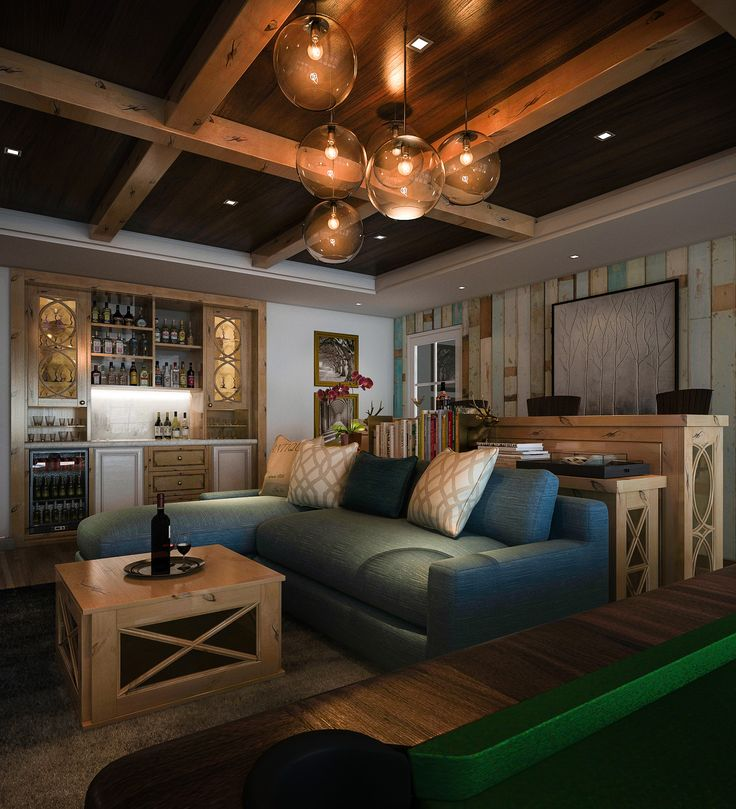 With A Custom Wine Bar, The Good Times Can Even Flow Into The Comforts Of.  Cabinet DecorLiving Room ... Part 66