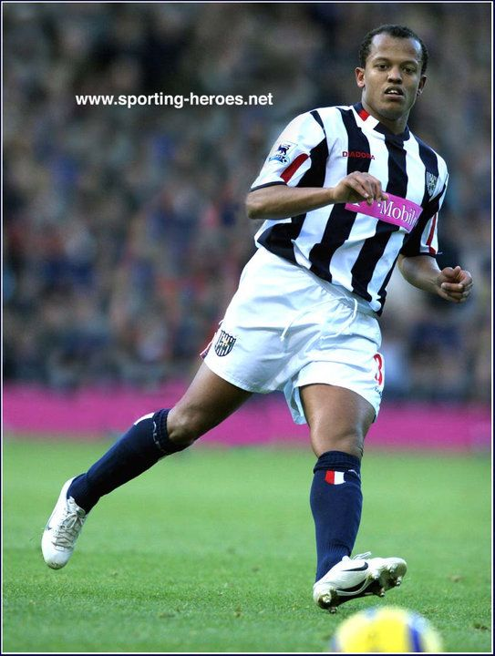 Robert Earnshaw, West Bromwich Albion v Charlton 19th March 2005.
