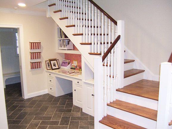 78 ideas about under desk storage on pinterest desk for Home office renovation ideas