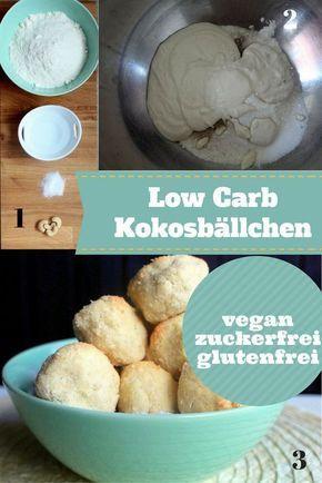 Ganz einfach Low Carb Energiebällchen herstellen. Dieese Kokosbällchen sind vegan, ohne Zucker und sogar glutenfrei. Der perfekte Snack für Zwischendurch. Eignet sich prima für eine kohlenhydratarme Diät. Hier findest du das Rezept: http://www.muesliriegel-selbermachen.de/vegane-eiweissriegel-mit-kokosmehl/ vegane Proteinriegel, vegane Eiweißriegel, Proteinriegel vegan Kokosbällchen, Low Carb Kokosbällchen, Kokos Energiekugeln