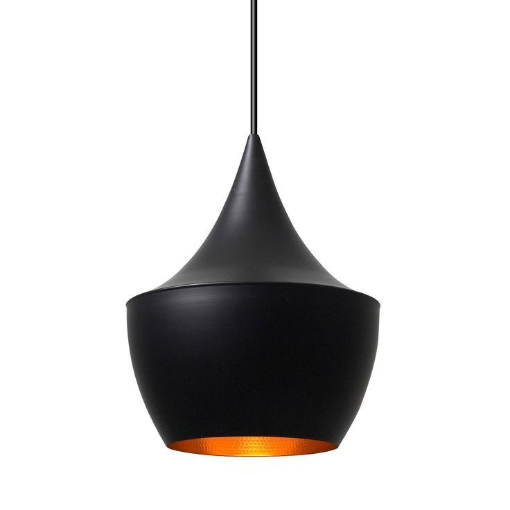 Tom Dixon Beat Pendant Replica   Black   24cm   The Big Lighting Sale @ The Home