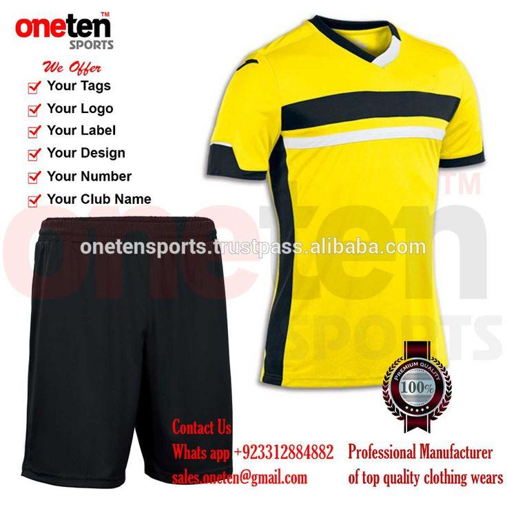 blank soccer team set Customized football shirt maker soccer jersey cheap sublimation custom soccer jerseys design wholesales