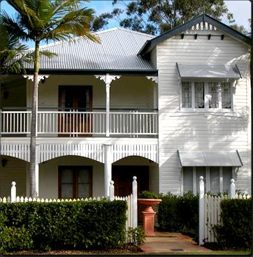 Nicely raised Queenslander house.