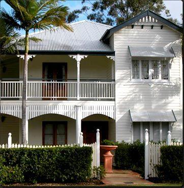 Nicely raised Queenslander house.