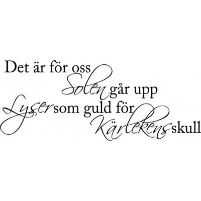Vackra svenska ord av Ted Gärdestad