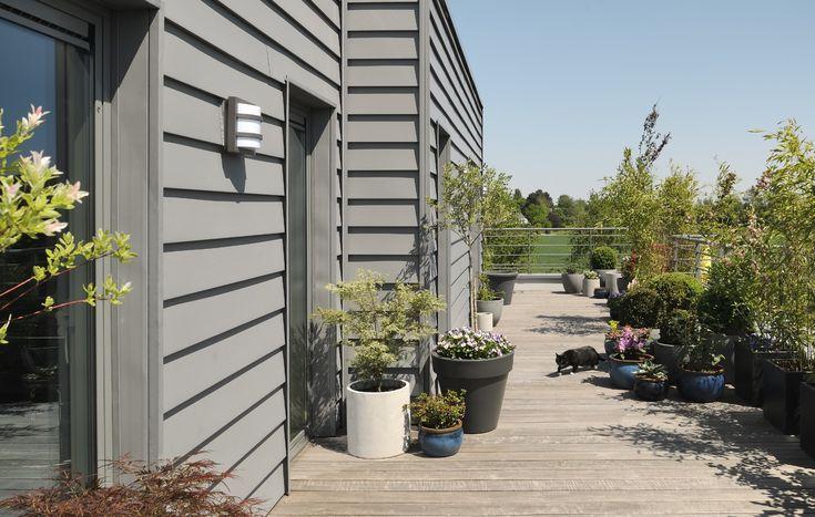 les 25 meilleures id es concernant bardage fibro ciment. Black Bedroom Furniture Sets. Home Design Ideas