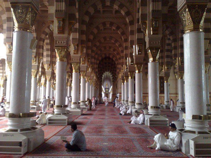 Inside Masjid Nabawi