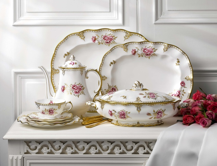 Pictured is the new Royal Crown Derby pattern u0027Pinxton Rosesu0027 - an archived classic & 18 best Royal Crown Derby images on Pinterest | Royal crown derby ...