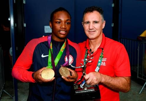 Team USA's Claressa Shields Wins Her 2nd Olympic Boxing GOLD Medal! She Won Her First GOLD Medal In The 2012 LONDON Olympics. (75KG)  Aug. 21, 2016