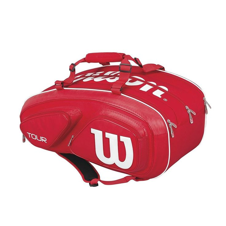 Wilson Tennis Racket Bag Tour V 15 PACK (15 rackets can be stored) From Japan #Wilson