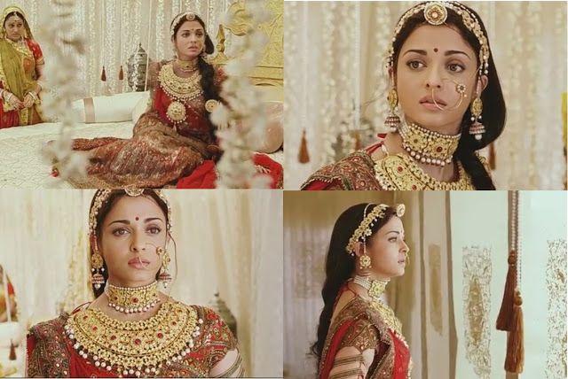 Aaina - Bridal Beauty and Style: Bollywood Bride: Aishwarya Rai in Jodha Akbar
