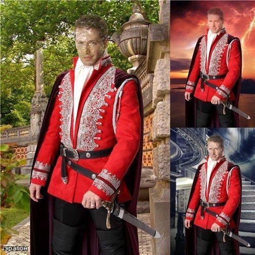 Мужской средневековый костюм мужской