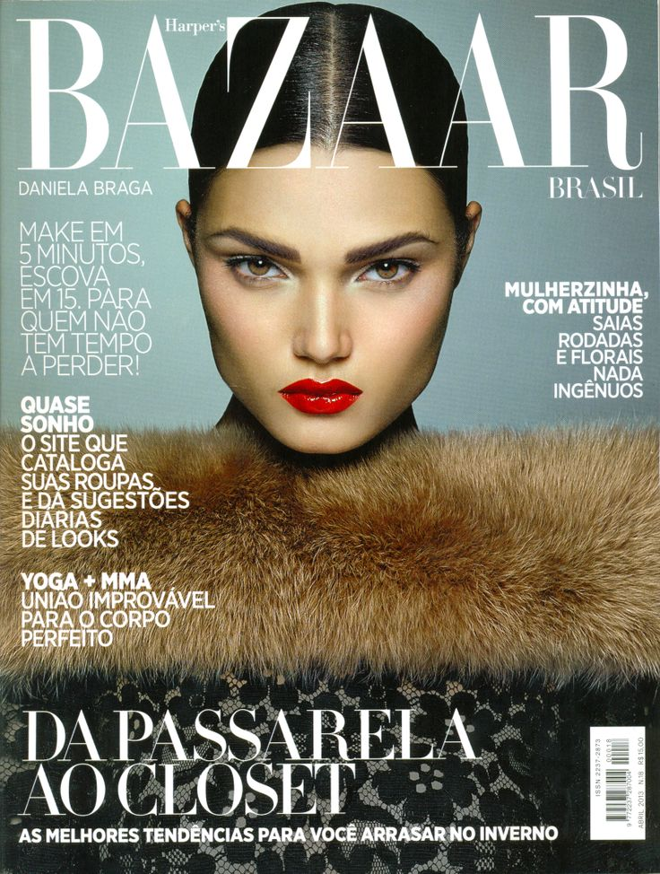 Daniela Braga for Bazaar