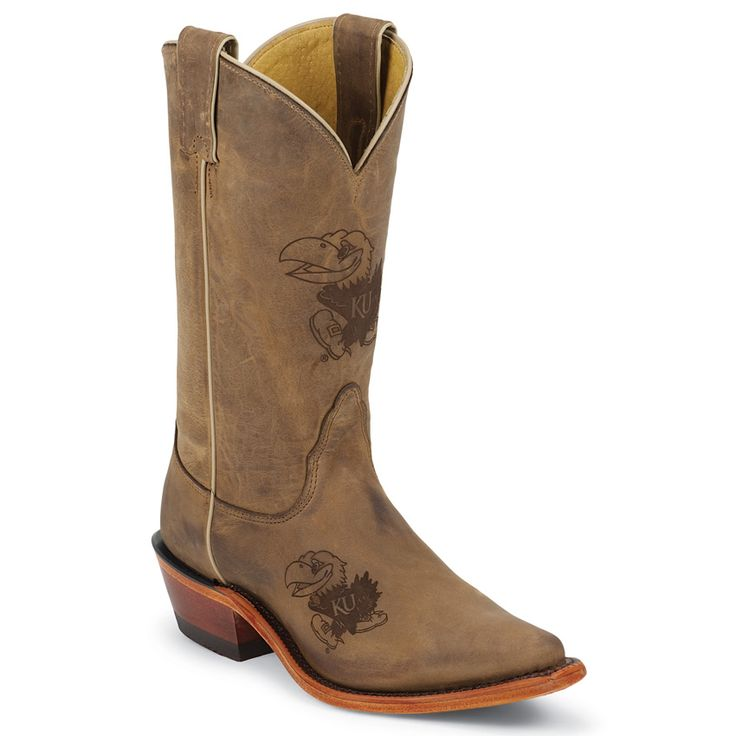 Nocona Women's University of Kansas College Boots - Not looking for this color, but had to post my Jayhawk!