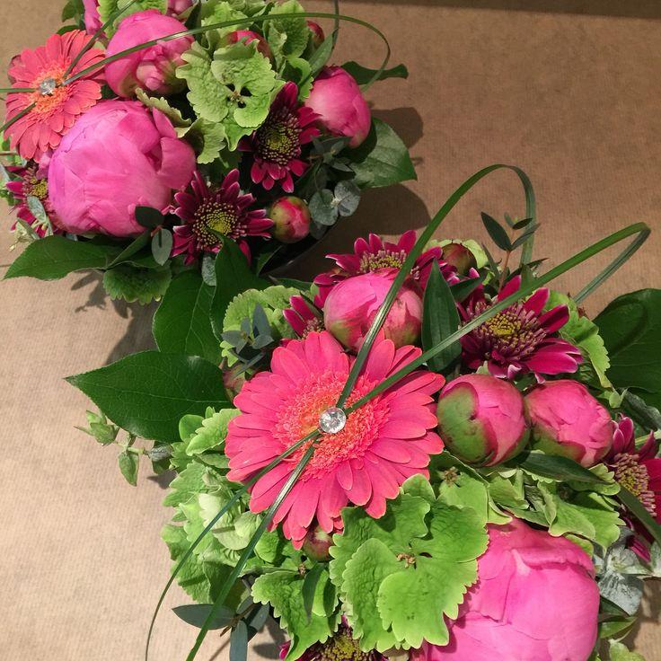 Rosa dekorasjoner