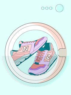 Bei schmutzigen Schuhen bleibt manchmal nur noch die Waschmaschine - wir verraten dir 10 ultimative Wasch-Tipps, die du unbedingt beachten solltest »