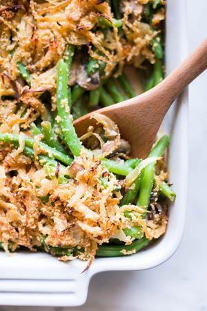 Healthy Green Bean Gluten Free Casserole