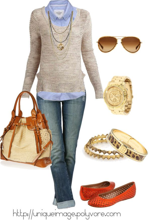 by uniqueimage on Polyvore: Casual Outfit, Fashion, Fall Style, Clothes, Fall Outfits, Casual Fridays, Fall Winter