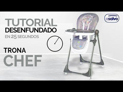 Desenfundado en 25 seg. l Trona Chef l Asalvo // Remove the cover in 25 sec. l High Chair Chef l Asalvo