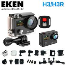 2016 New 4 K H3/H3R remote Sports camera Ultra HD 4K WiFi 1080P dual screen 2.0 go waterproof pro gopro hero 4 style Action cam
