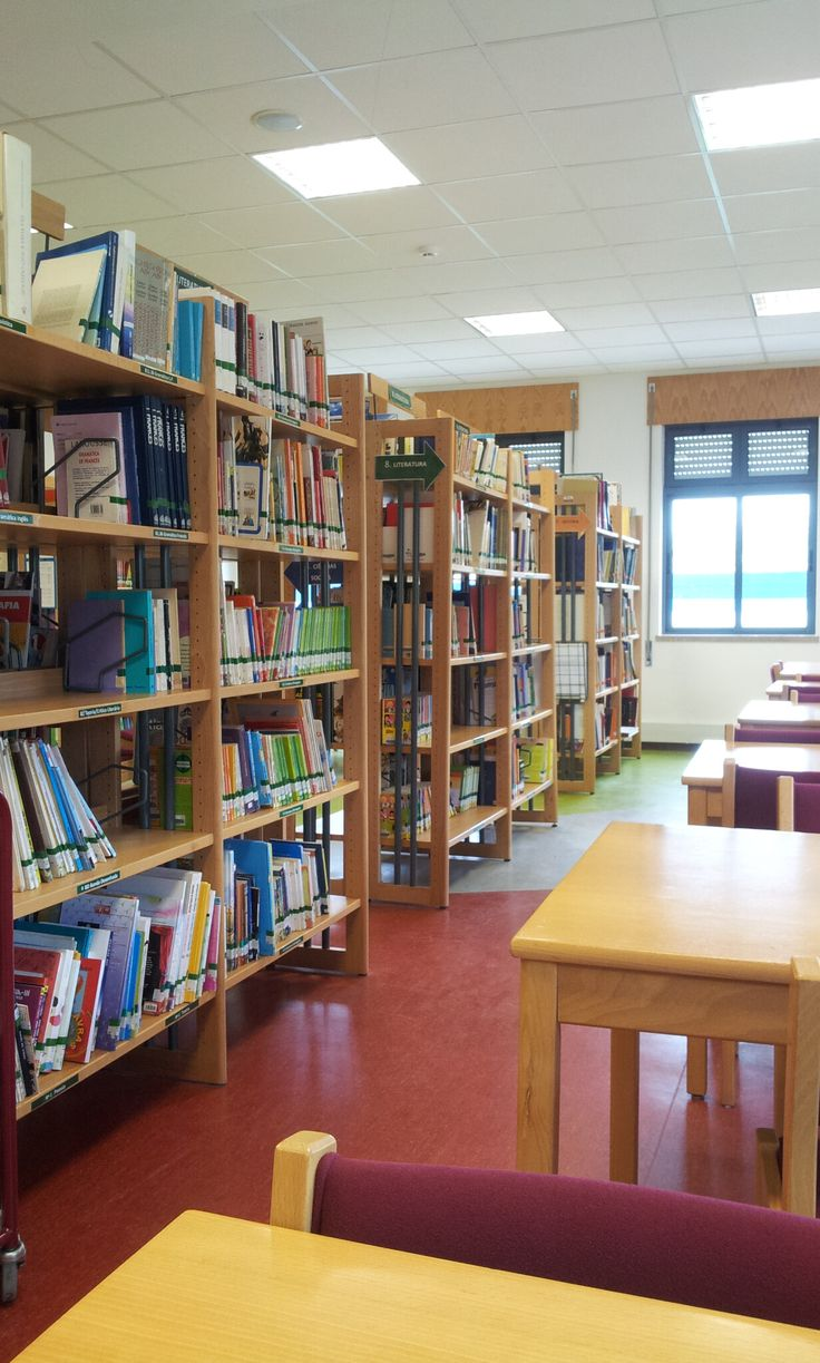 Library in Escola Básica Professor Lindley Cintra