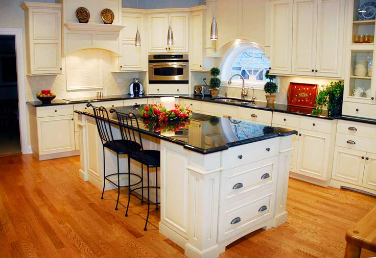 Understated Elegance White Kitchens Traditional Design Home Homedecor Cabinets Island
