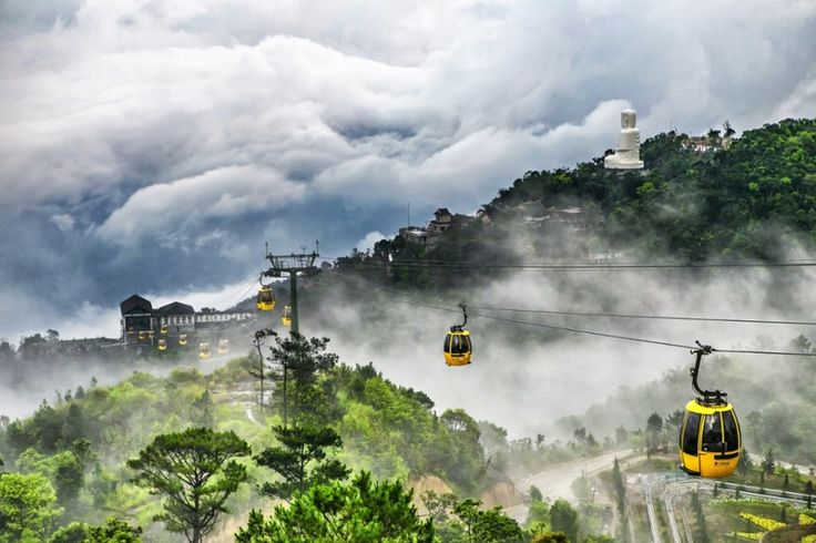 The Ba Na Hill station in Da Nang, Vietnam