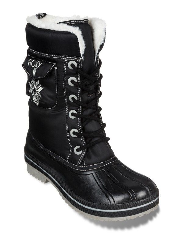 Snowdrift Black Boots | from #Roxy
