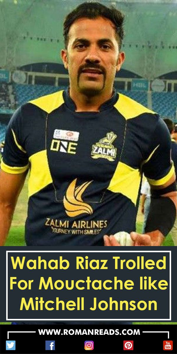 PSL 2018 Ki Team Peshawar Zalmi Kay Player Wahab Riaz Ki Muchon Nay Doom Macha Di #moustache #WahabRiaz #PeshawarZalmi #PSL2018 #PSLSeason3 #KarachiKings #MitchellJohnson #RomanReadsArticles #RomanReads