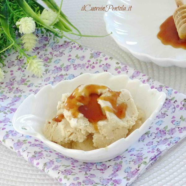 come fare il gelato al miele