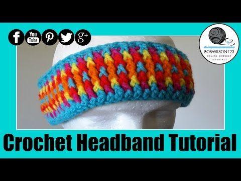 14 Best Crochet Headbands Patterns And Video Tutorials Images On
