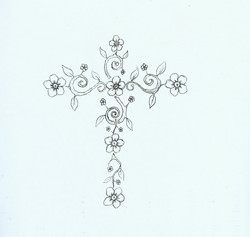 I like this idea too, for a white cross tattoo on my wrist. Just not sure it would show up well.