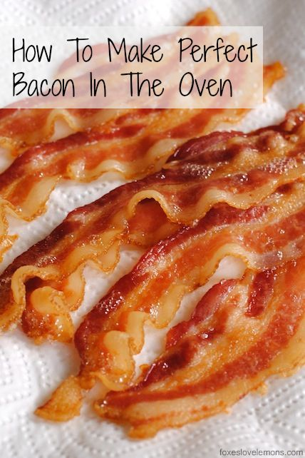 Culinary School Lesson: Bakin' Bacon (How To Make Perfect Bacon In The Oven). A great way to serve breakfast for a crowd!