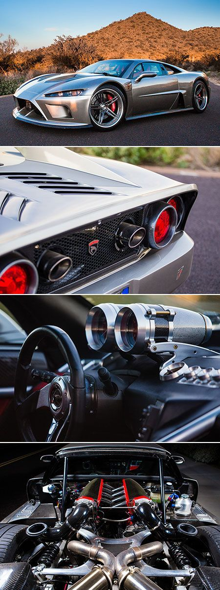 Falcon F7 is American Supercar Powered by 1100HP V8 Engine, Touted as Ferrari Fighter - http://www.popularaz.com/falcon-f7-is-american-supercar-powered-by-1100hp-v8-engine-touted-as-ferrari-fighter/