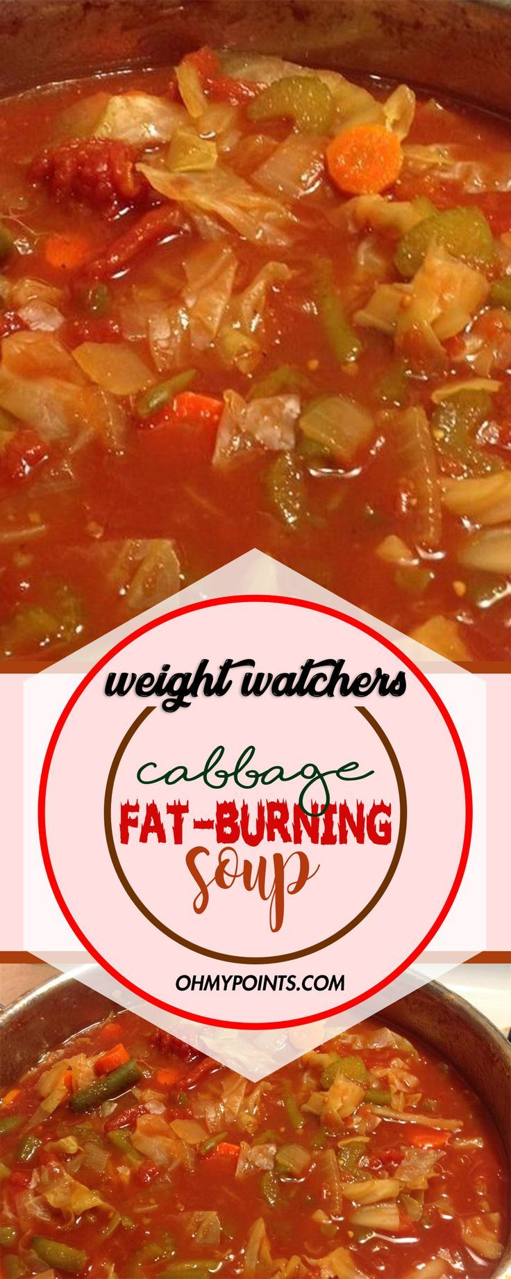 Cabbage Fat-burning Soup #weightwatchers #weight_watchers #cabbage #fat_burning …