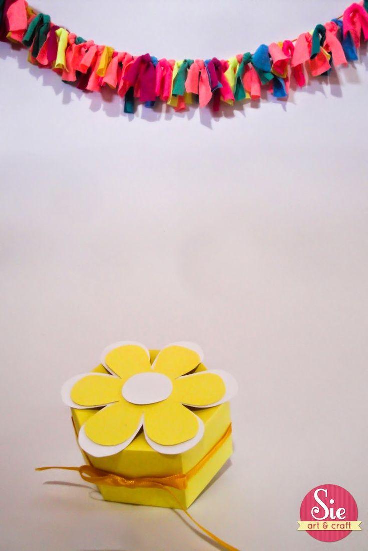 Sie - Art & Craft: Cajita flor ♥