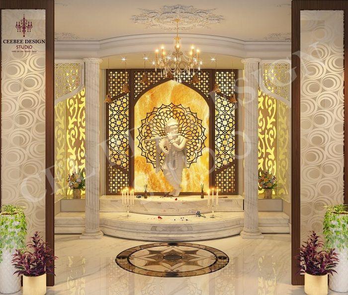 pooja mandir designs latest temple door puja modern unit ghar decoration altar stylesatlife ka ke decor backlights