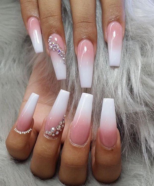 Nails Art Girl Polish Cute Makeup November 26 2019 At 12 10am Valentine S Day Nails Coffin Nails Designs Heart Nail Designs