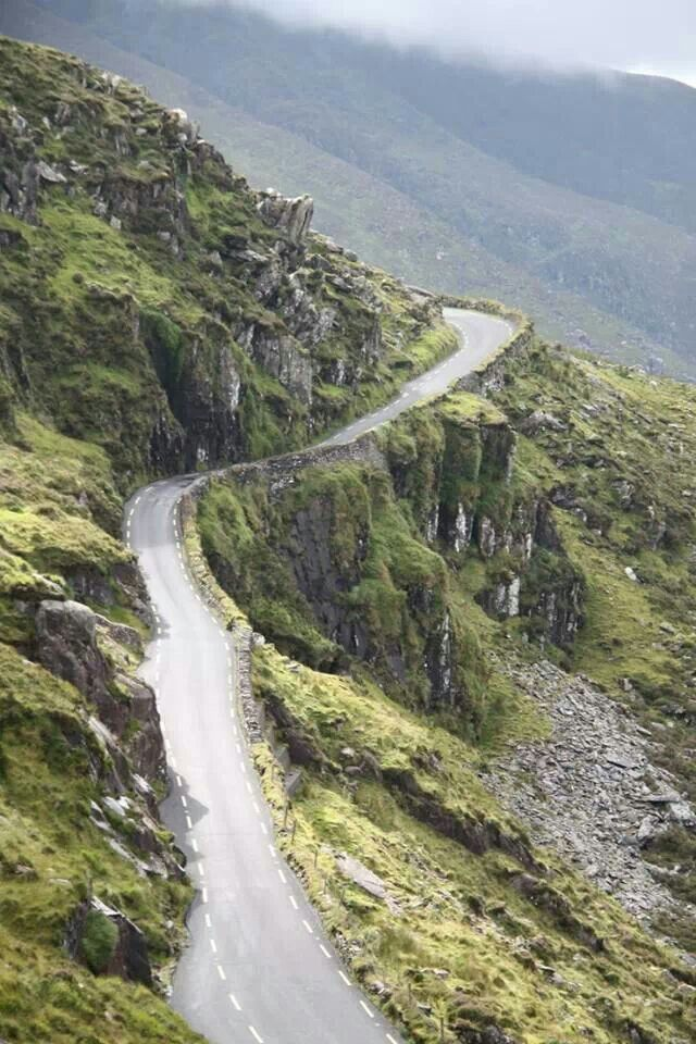 Conor Pass, Dingle Peninsula,  Co.  Kerry