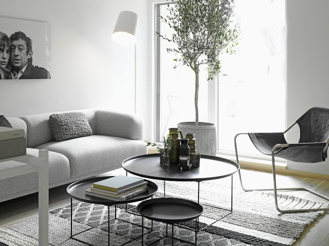 Nordic Blends: Nordic Inspiration. Tables: Fat Fat (B&B Italia)