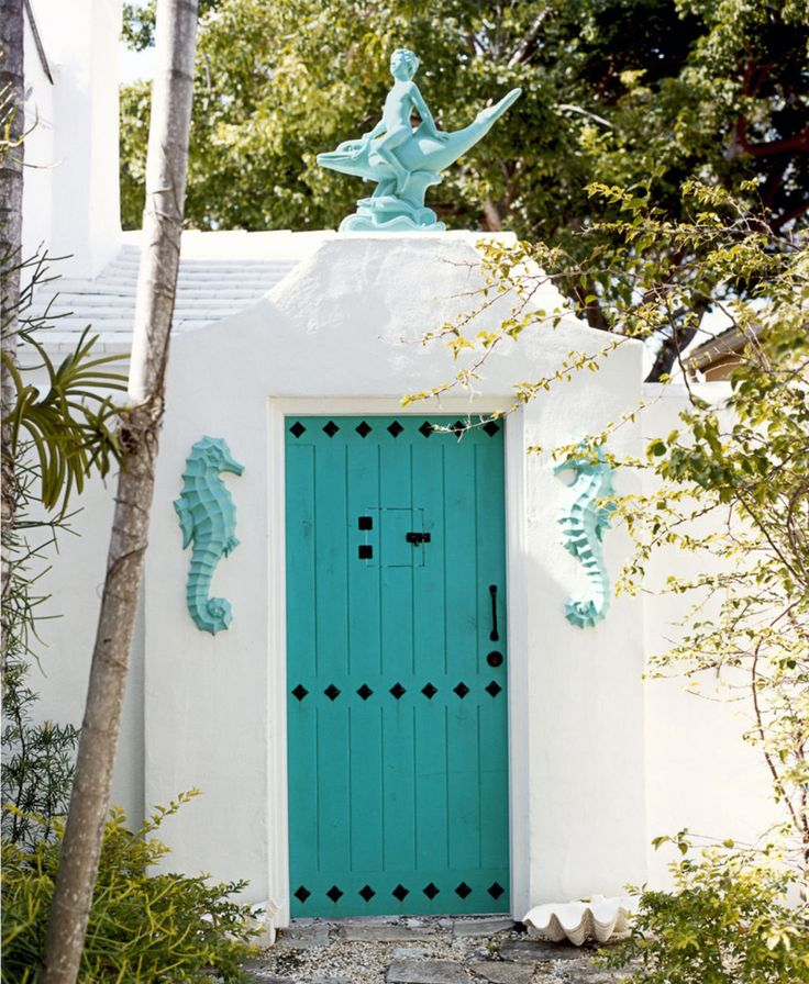 40 exemples de portes dentres colores
