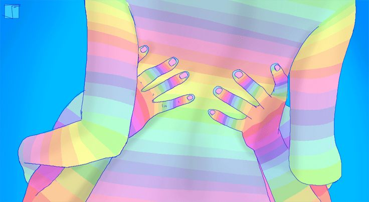 Check Out This Guy's Sexy Psychedelic GIFs