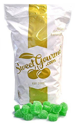 Ferrara Candy Spearmint Leaves jelly spearmint candy (5Lb...