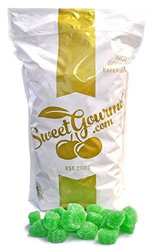 Ferrara Candy Spearmint Leaves jelly spearmint candy (5Lb...