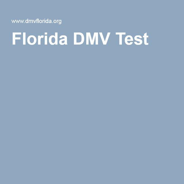 Florida DMV Test