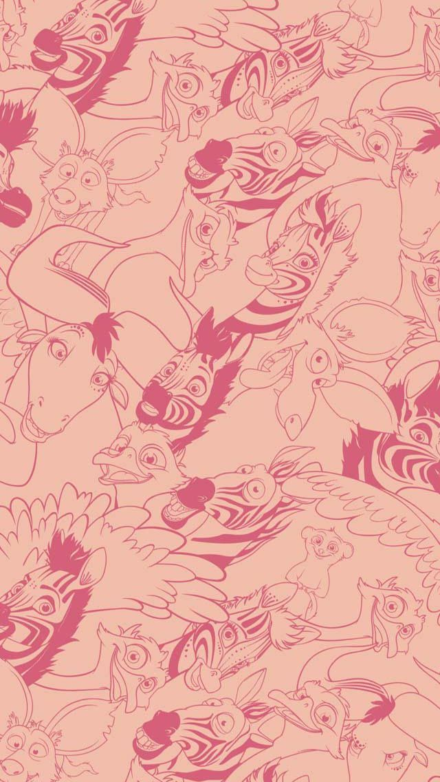 #Khumba wishes you a Happy #Valentines  with a Free PATTERNED wallpaper for your iPhone- more #freebies on FB later today!
