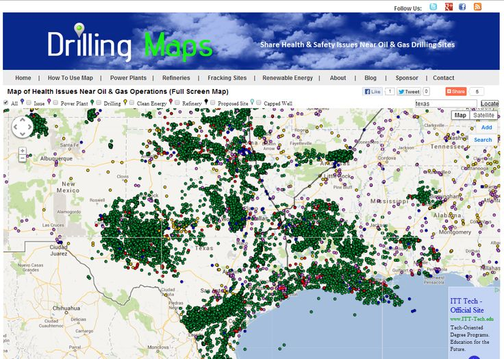 Texas Oil Gas Drilling Maps Nwsarealty Com