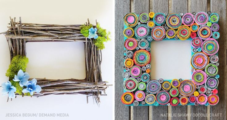 17 inventive ways to make your own unique picture frame