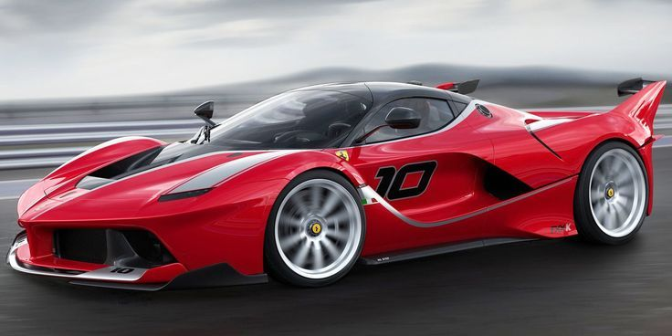 Yes, it's the fastest, wildest track-only production car Ferrari's ever