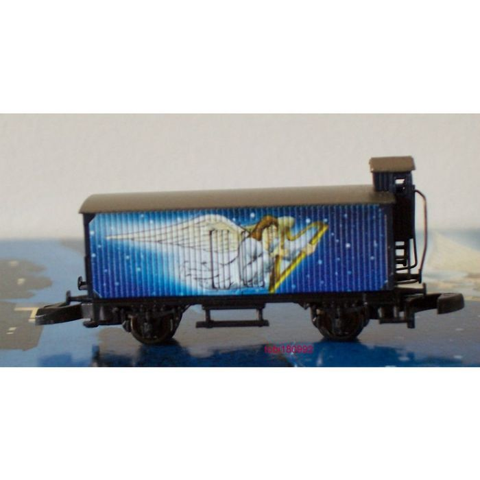 Marklin 80616 Z mini-club Christmas Car 2006 Refrigerator Car - Limited Edition Listing in the Marklin,Z Scale,Trains & Model RR,Toys & Hobbies Category on eBid Canada | 151183973